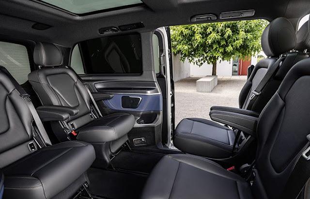 Mercedes-Benz EQV totalmente eléctrica