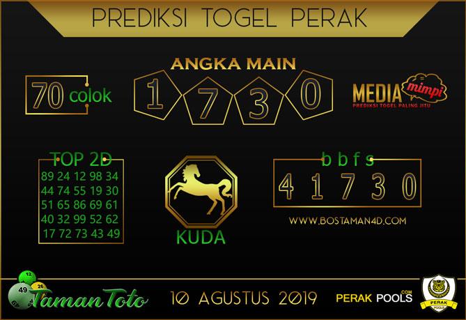 Prediksi Togel PERAK TAMAN TOTO 10 AGUSTUS 2019