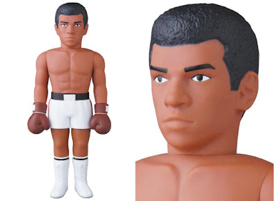 Muhammad Ali Float Like A Butterfly Sting Like A Bee Variant Vinyl Collectible Dolls Vinyl Figure by Medicom Toy