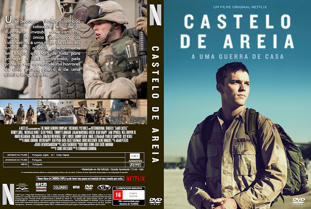 Capa DVD Castelo de Areia [Exclusiva]