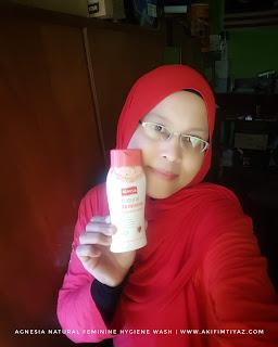 Agnesia Natural Feminine Hygiene Wash