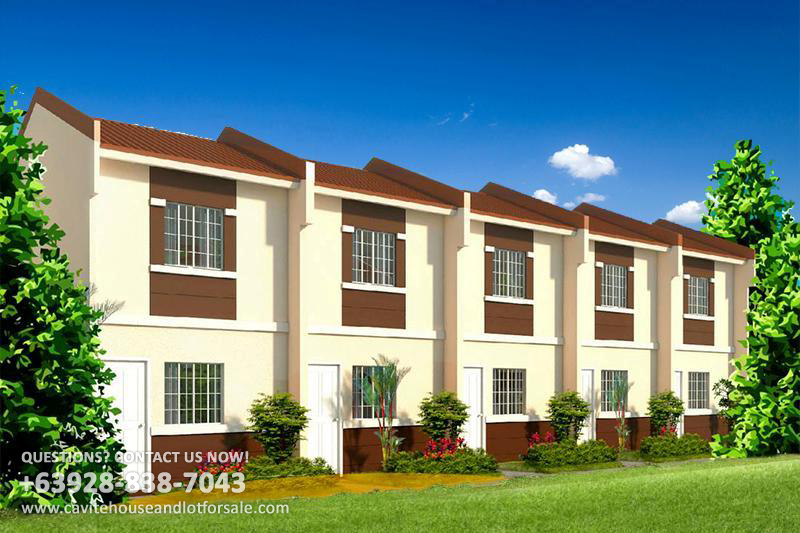 Acacia Townhomes Cavite House And Lot For Sale Philippines - View House Prices On Map In Us
