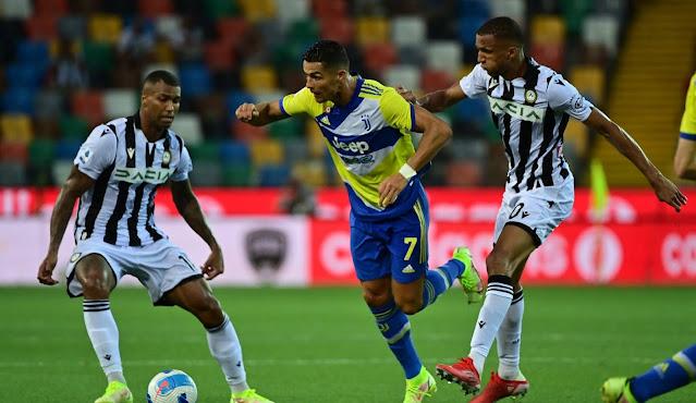 ملخص واهداف مباراة يوفنتوس وادينيزي (2-2) الدوري الايطالي
