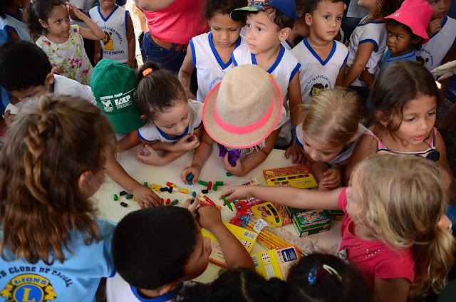Alunos Da Escola Leãozinho Visitam O Parque De Exposições da Expoac em Cacoal