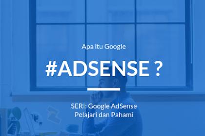 AdSense - Apa itu Google AdSense?