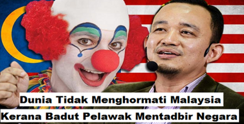 """""""Malaysia Jadi Bahan Ketawa Kerana Pemimpin 'BADUT'..."""" - Dr Maszlee Malik"""