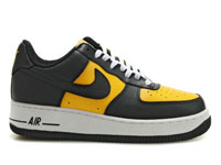 the latest 563a2 4b3f2 These types of as Nike Air Force 1 07 Low black varsity maize white with  capable plenty of, quite steady and strong tough.