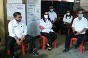 Pemkab Minahasa Pantau Penyaluran BLT Tahap II di Desa Pineleng 2 Indah