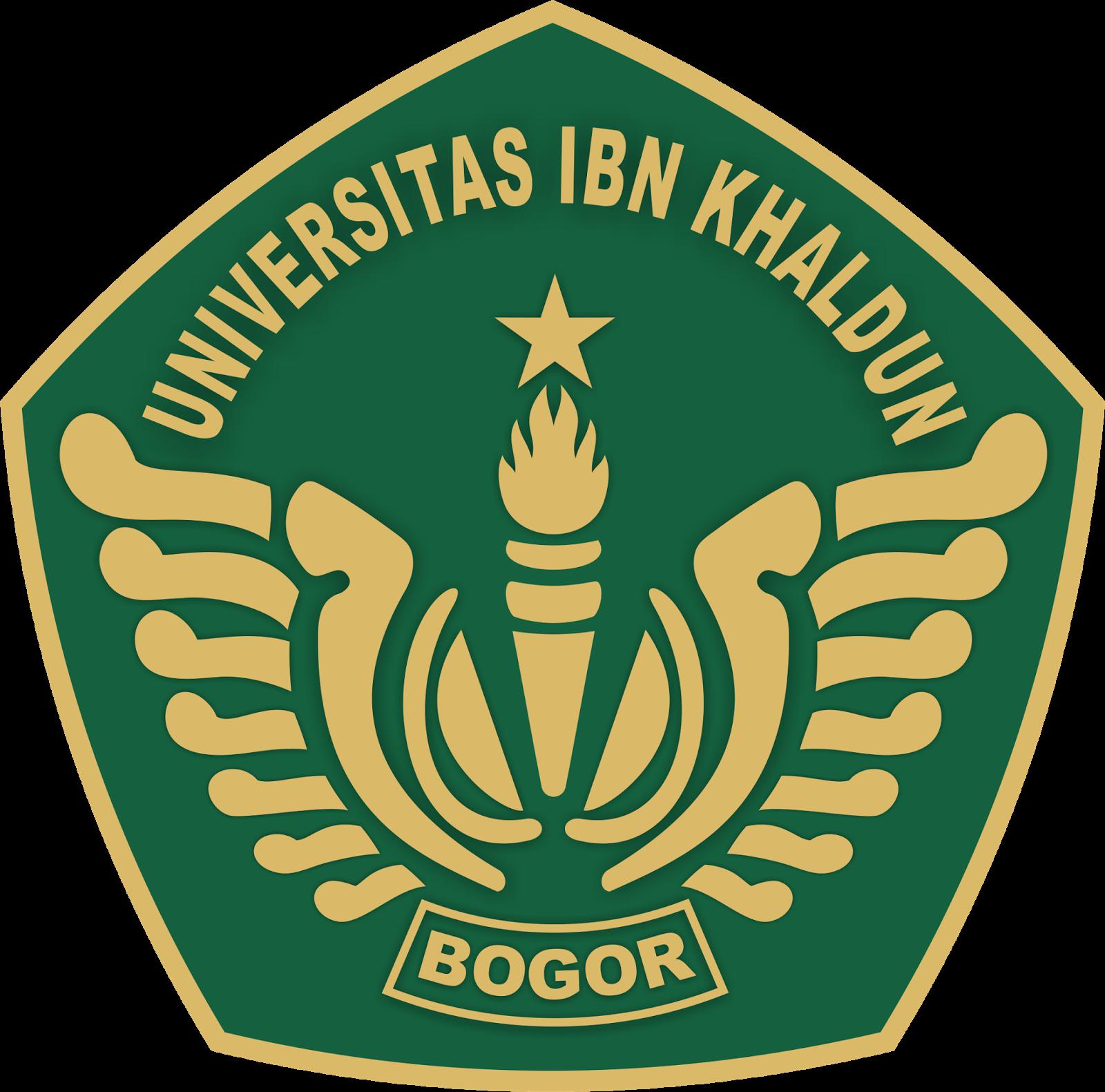 Modern Home Design Layout Logo Universitas Ibn Khaldun Bogor Berikut Logo Fakultas