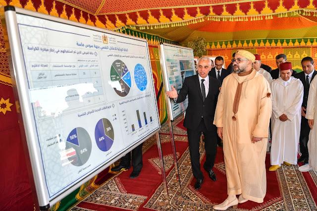 ساكنة أكادير فخورة و جِد مسرورة بزيارة صاحب الجلالة الملك محمد السادس للمدينة