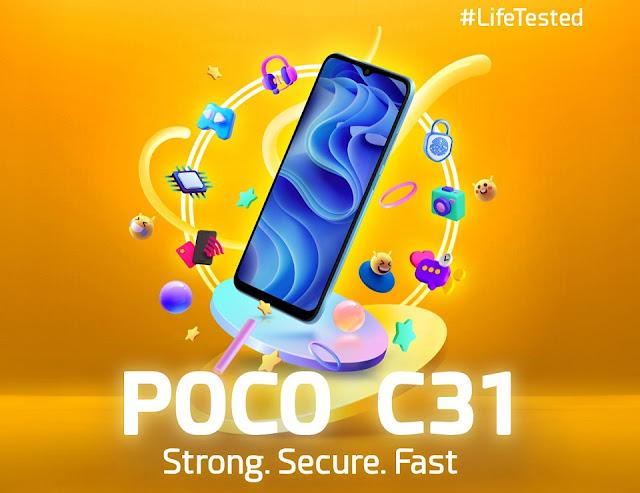 poco-c31-mobile
