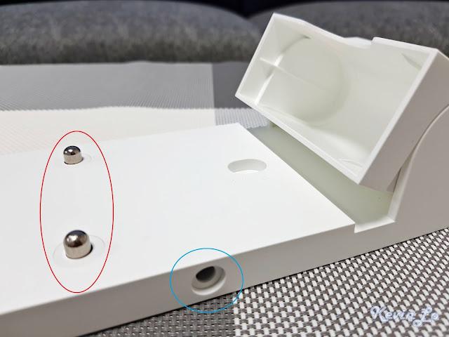 【MI 小米】米家無線吸塵器 G9 (白色) 開箱_充電收納二合一支架充電處