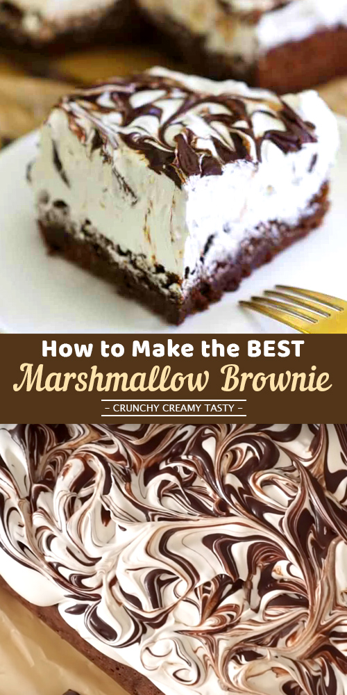Best and Easy  Marshmallow Brownie