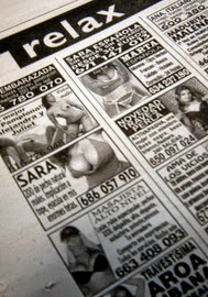 perfil de prostitutas en españa numero prostitutas españa