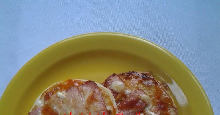 resepi roti pizza mini mudah surasmi Resepi Bun Roti John Enak dan Mudah