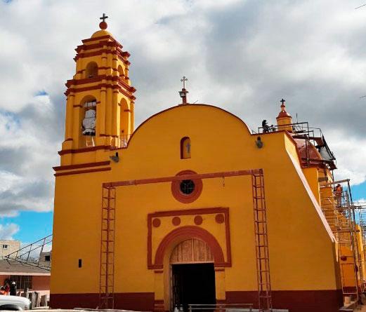 Centro INAH Estado de México entrega iglesia restaurada en municipio de Joquicingo