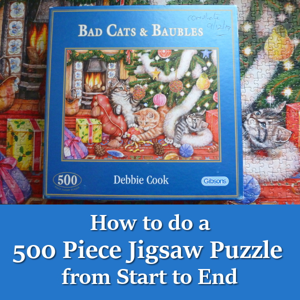 How to do a 500 Piece Puzzle from Start to Finish: Solve a 500pc Jigsaws Tips and Tricks Puzzles Begin Beginners Starting