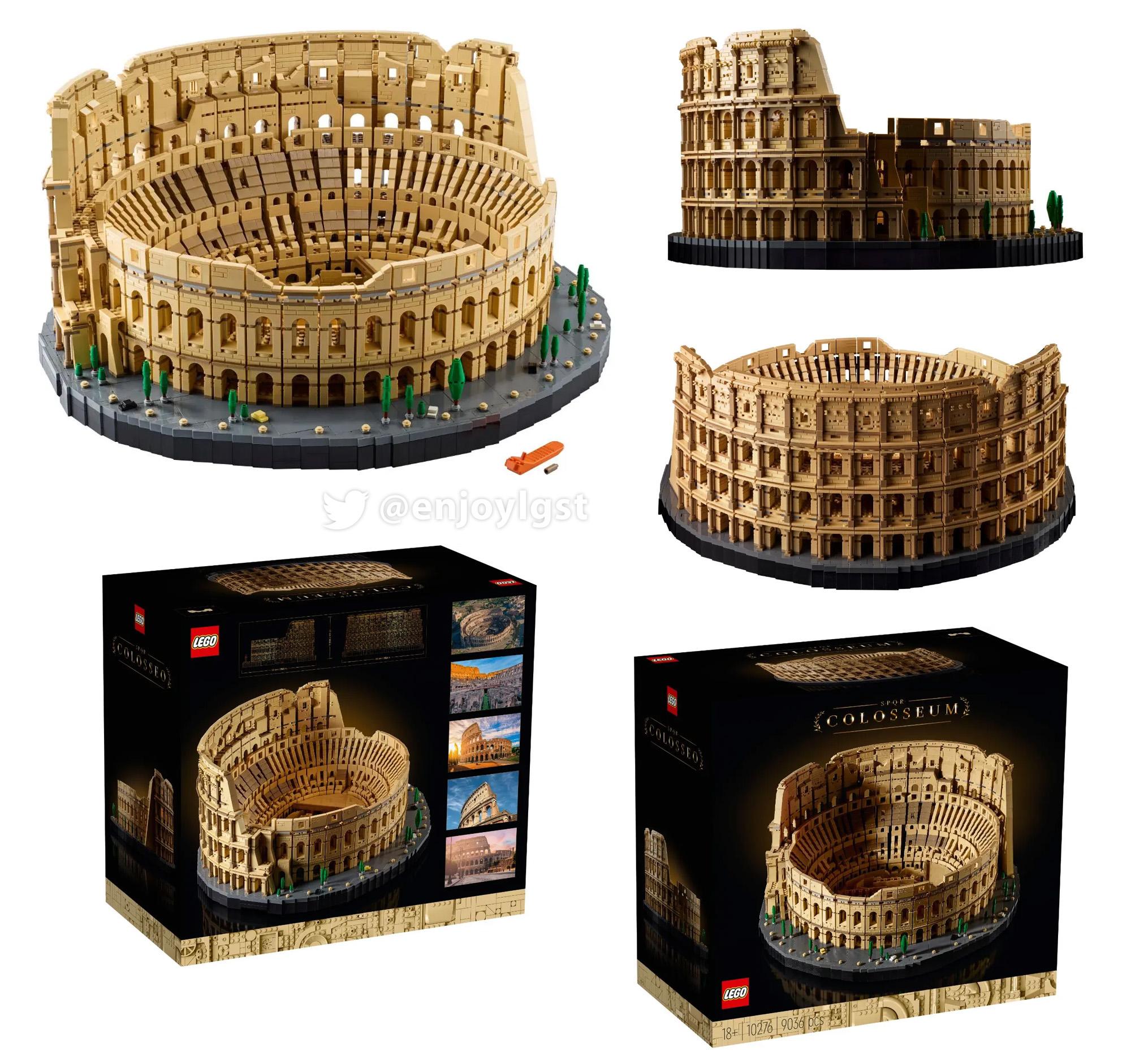 レゴ(LEGO) 大人のレゴ ローマのコロッセオ 10276