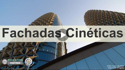 Curso sobre fachadas cinéticas en arquitectura y diseño