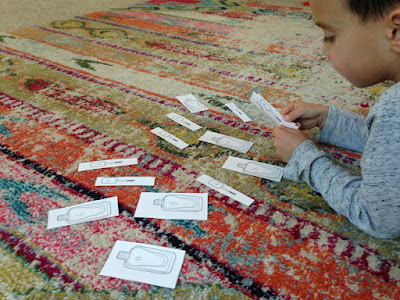 Nail Polish Preschool Letter and Sound Review Game