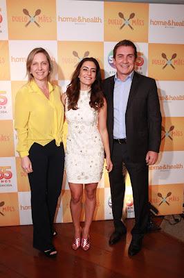 Mônica Pimentel, Ticiana e Murilo Fraga (Crédito: Leonardo Nones/SBT)