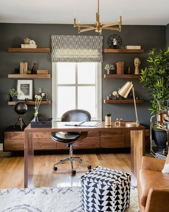 Contemporary Home Office Design Ideas For a Trendy Working Space