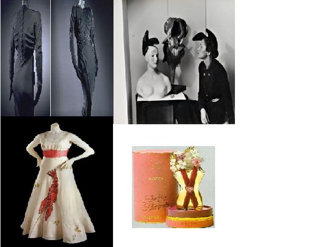 c4577883cfd8 ... ήταν σε σχήμα κορμιού γυναίκας μαζί με λουλούδια εμπνευσμένα από πίνακα  του Νταλί και το κορμί της γυναίκας εμπνευσμένο από την ηθοποιό Mae West με  ...