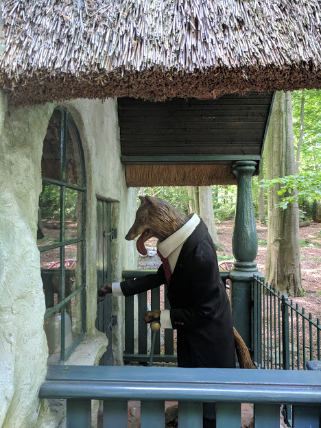 Photos from the Fairytale Forest at Efteling  - Mr Wolf