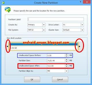 Cara Buat Partisi SD Card untuk Swap Android Tanpa Root, Membagi Memori Micro SD Eksternal HP Android tanpa ROOT lengkap