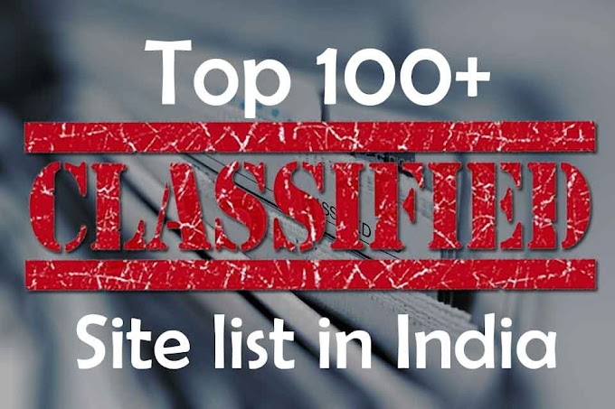 100+ Top Free Indian Classified sites list in India