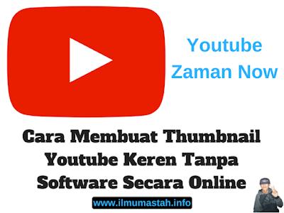 Cara Membuat Thumbnail Youtube Keren Tanpa Software Secara Online
