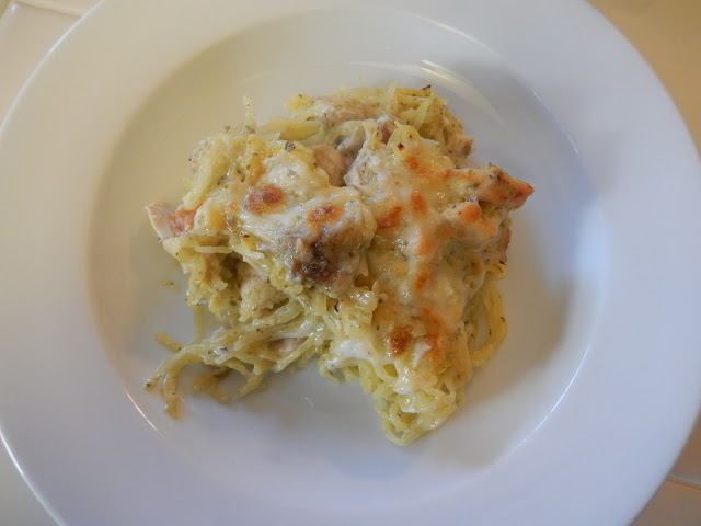 Eggface%2BPesto%2BChicken%2BAlfredo%2BSpaghetti%2BSquash%2BCasserole%2BRecipe Weight Loss Recipes Post Weight Loss Surgery Menus: A day in my pouch