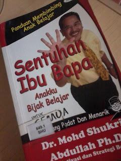 Sitiannallyssa: Buku: SENTUHAN IBU BAPA - Anakku bijak belajar