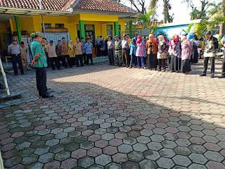 #ApelPagi kali ini di Pimpin Camat #SZM, dilaksanakan di halaman kecamatan