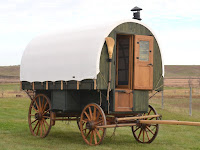 sheepherder's wagon