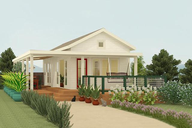 Desain Eksterior Rumah Sederhana
