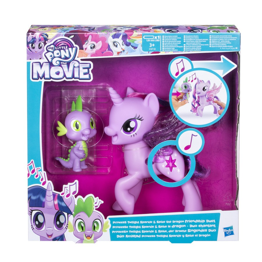 Twilight Spike Friendship Duet Stock Images Released