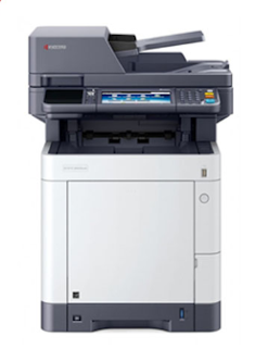 """ECOSYS M6630cidn, Color A4 (up to 8.5 """"x14"""") MFP, combines impressive performance, with speeds up to 32 ppm, with advanced features, all in a concise footprint."""