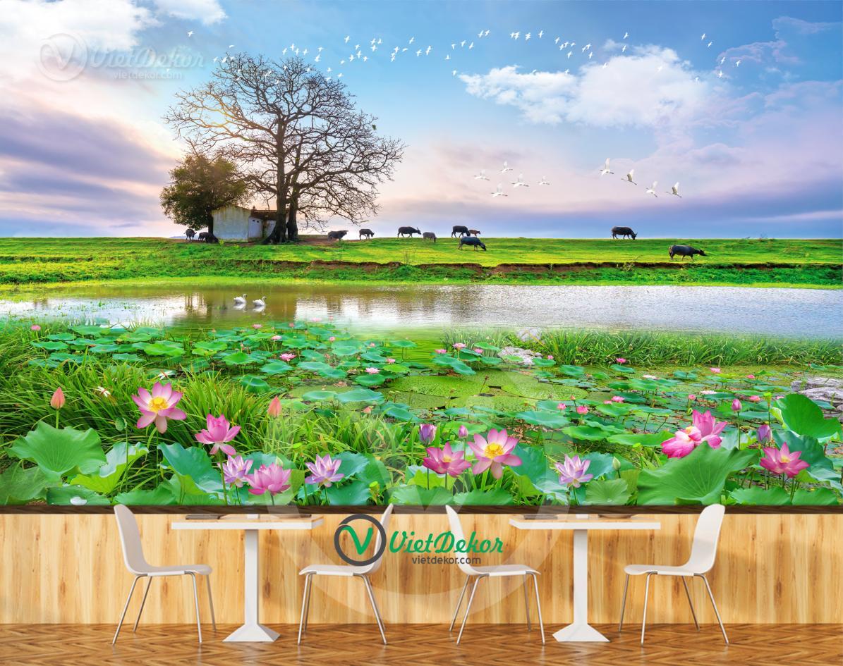 Tranh Dán Tường Phong Cảnh Đẹp N1