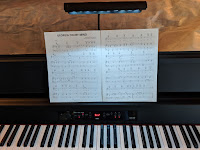 Korg G1 sheet music rest