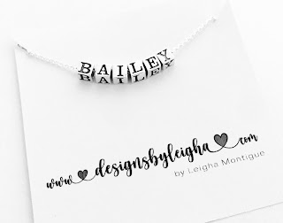 Bailey Name Necklace (.925 sterling silver)