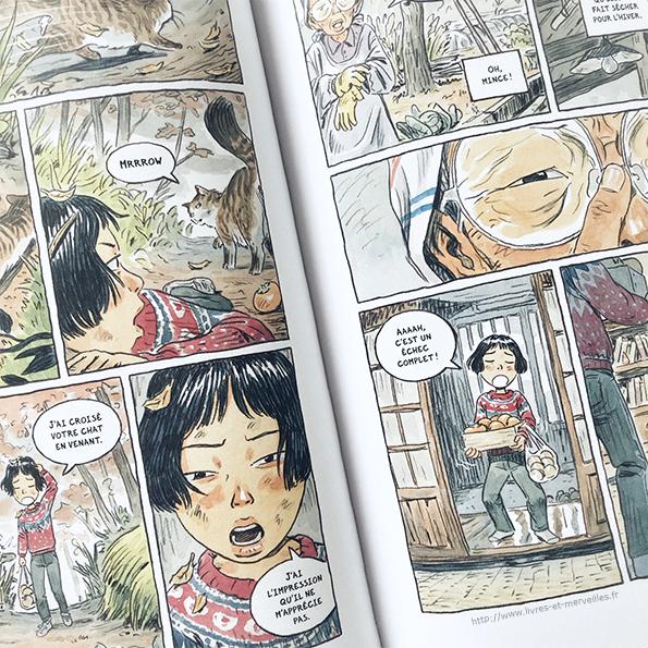 Bande dessinée : ⛩ La Fête des ombres – tome 1 ⛩