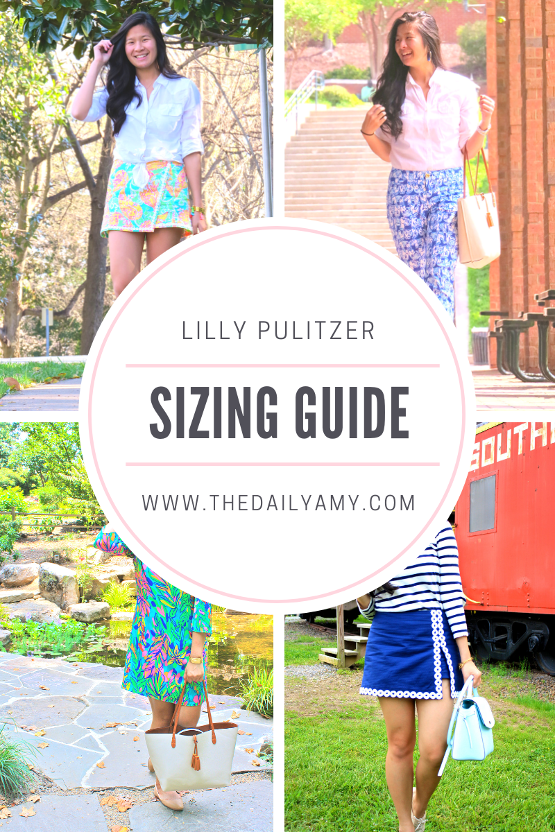 Lilly Pulitzer Sizing Guide   The Daily Amy