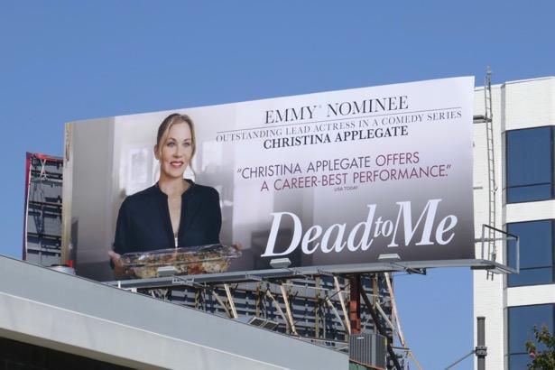 Dead To Me 2019 Emmy nominee billboard