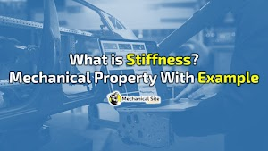 What is stiffness and it's importance in mechanical properties?