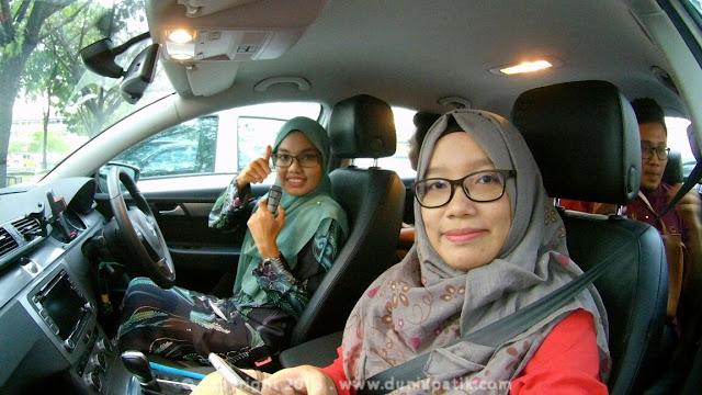 Mereka berpuas hati dengan pemanduan Volkswagen Passat