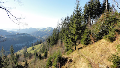 Trail an der Geissgratflue