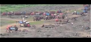 जिले में हो रहा है रेत का अवैध खनन, जिम्मेदार बने मूक दर्शक