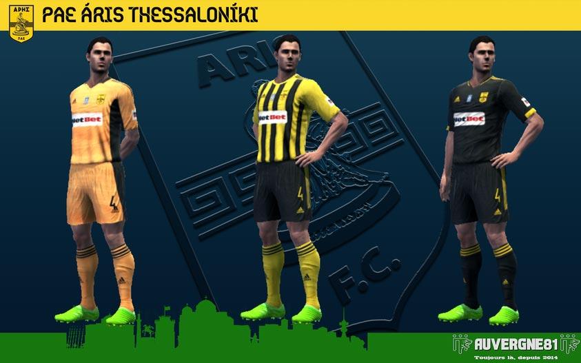 Kits Aris 2021-2022 For PES 2013