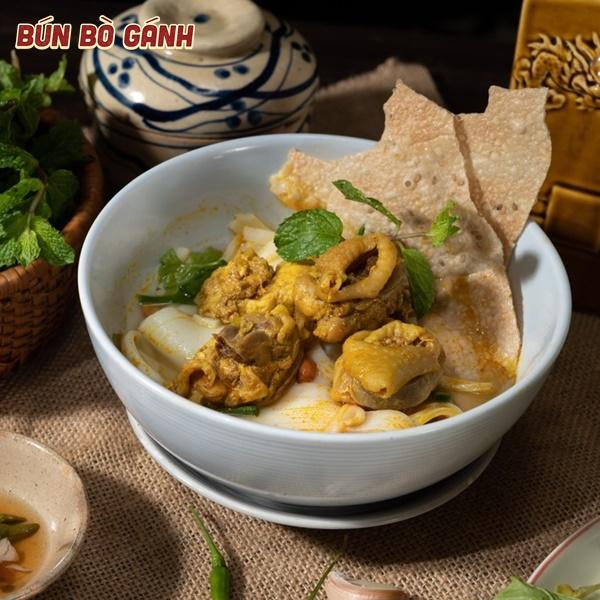Mì Quảng Gà Ta - Quang Nam Noodle with Chicken Meat